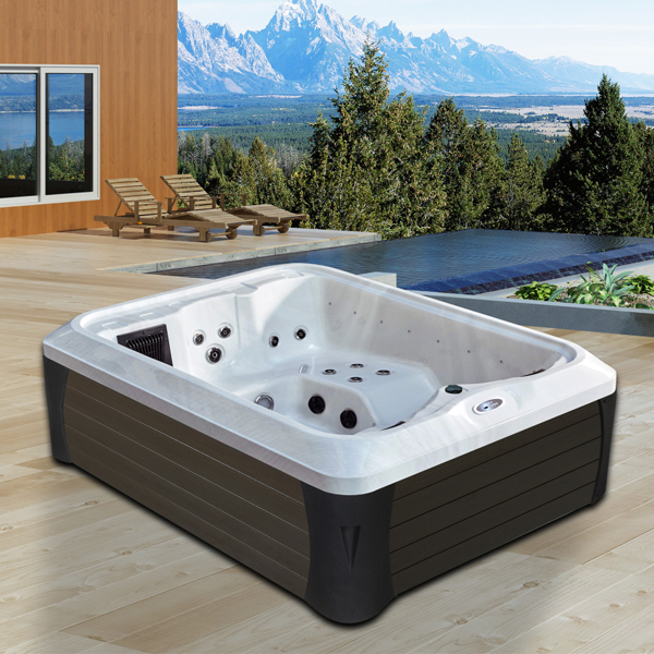 2 People Outdoor Sex Usa Acrylic Massage Hot Tub